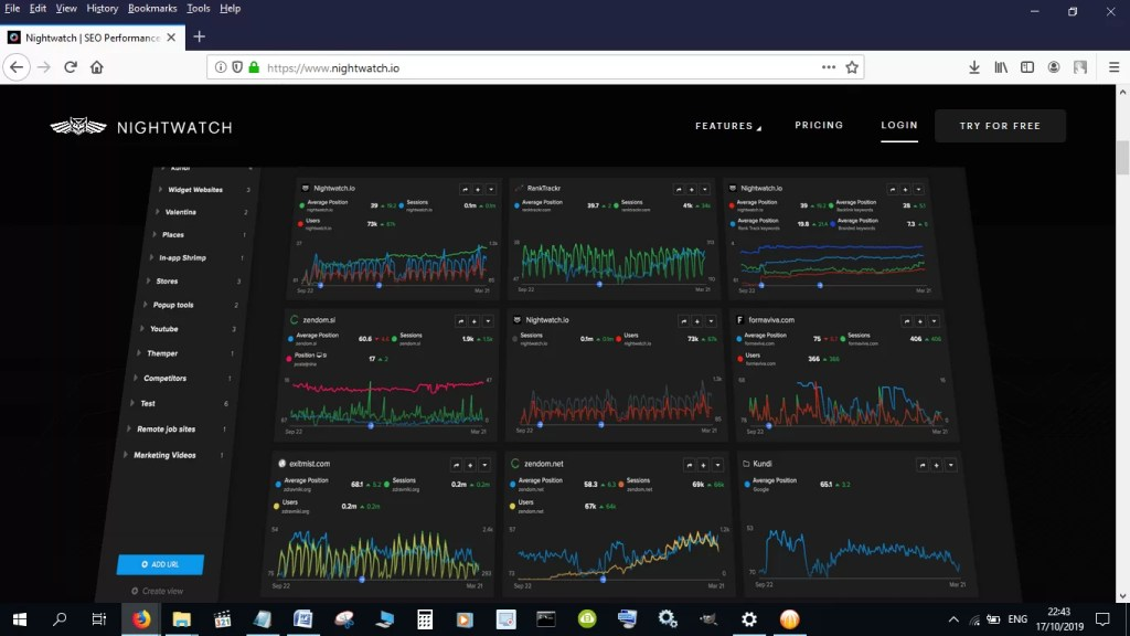 Nightwatch SEO Tracker review