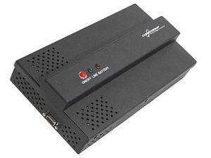 mmagine DOMO UPS 400 VA per quadro elettrico con adattatore guida DIN, spazio: 15 moduli