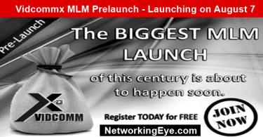 Vidcommx MLM Prelaunch - Join this Hot New Prelaunch‎