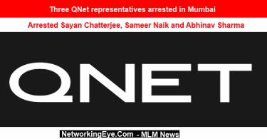 Three QNet representatives arrested in Mumbai