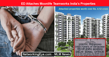 ED Attaches Moonlife Teamworks India's Properties