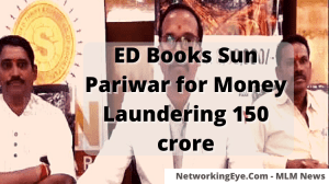 ED Books Sun Pariwar for Money Laundering 150 crore