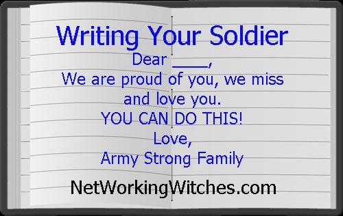 Writing A Soldier