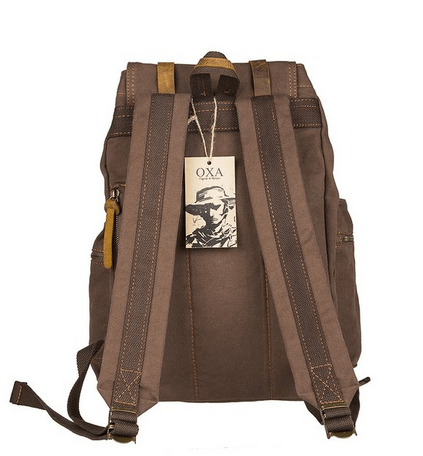 a1b6168c3a OXA Military Vintage Canvas Shoulders Backpack Bag – Networking ...