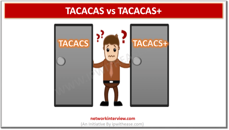 TACACAS vs TACACAS+
