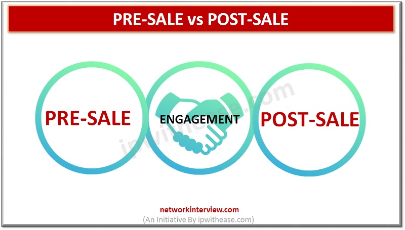 Pre-sale vs Post-sale