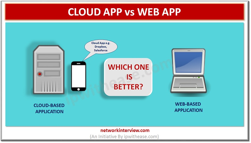 cloud app vs web app dp