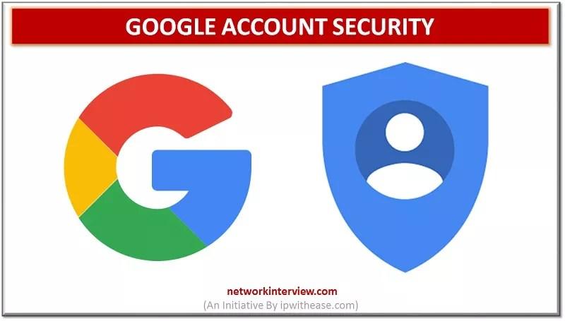 google account security