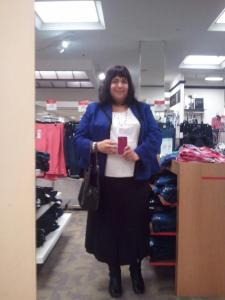 Me at Macy's in Sun Valley Mall - May 10, 2012