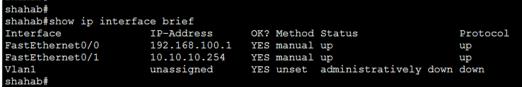 Cisco Router Interface Configuration 3