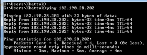 Ping and Traceroute 5