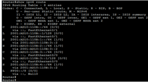 Static IPv6 Route Using Next-Hop IPv6 Address 2
