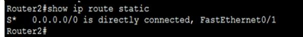 Default Route Configuration 2