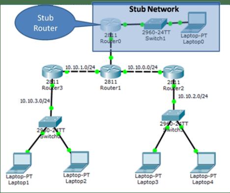 stub network