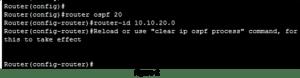 How to Configure OSPFv2 Single-Area 6