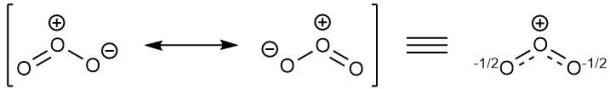 Resonance Structures of O3