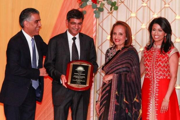 sandeep mathrani family