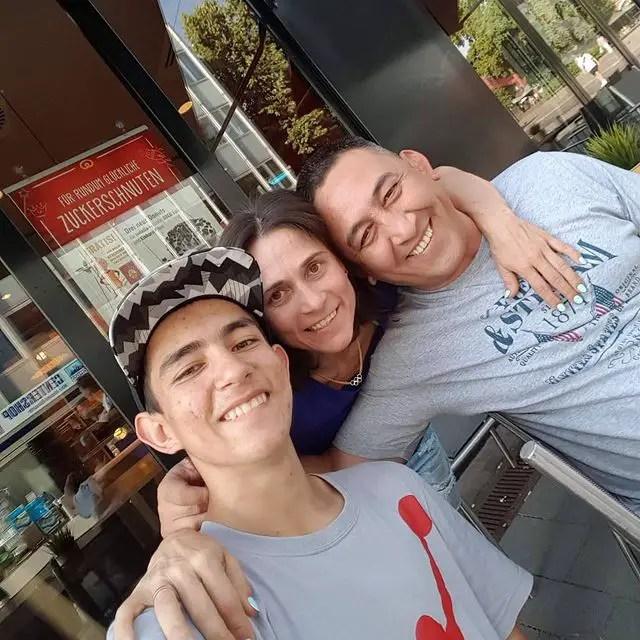 Oksana Chusovitina Family