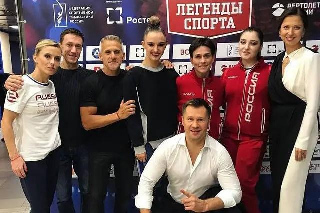 Oksana Chusovitina Friends