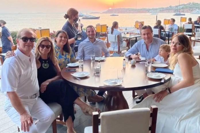 Raffaello Follieri Family and Friends