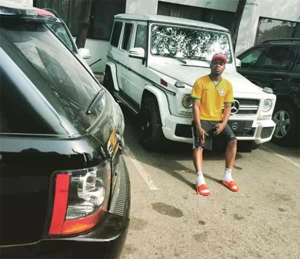 Olamide Adedeji cars