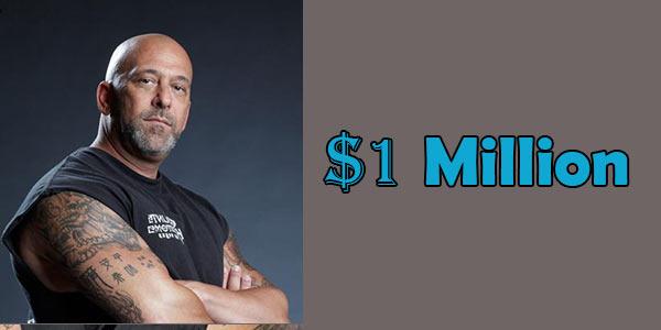 Kevin Scott Mack's Net Worth is $1 Million American Dollar