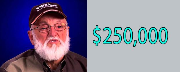 Chris Doumitt net Worth is $250,000