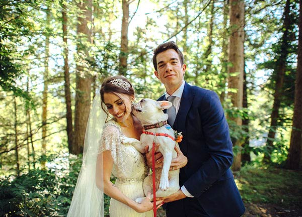 Weeding picture of Jean Mulaney & Annamarie Tendler