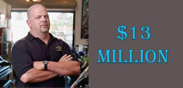 Rick Harrison's Net Worth is $13 Million