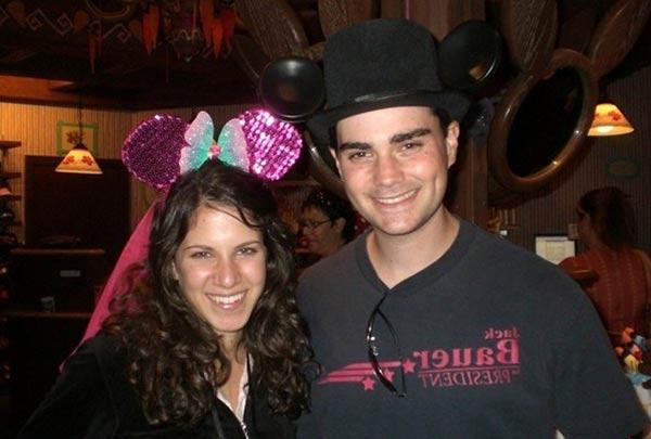 Image of Mor Shapiro with her husband Ben Shapiro