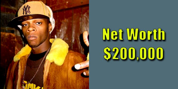Image of Rapper, Papoose net worth is $200,000