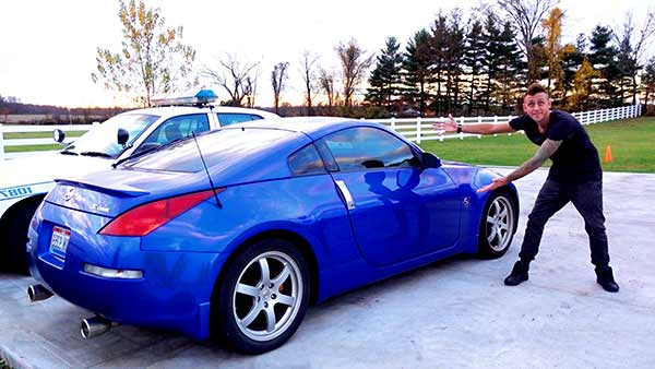 Image of Youtuber, Roman Atwood car