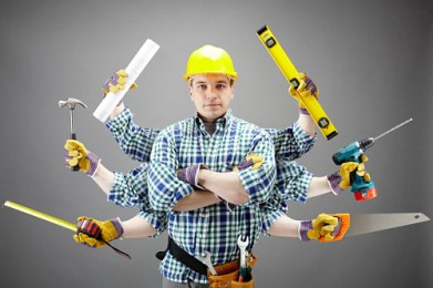 a graphic of a handyman