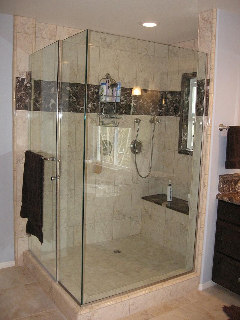 prefab shower units vs custom showers