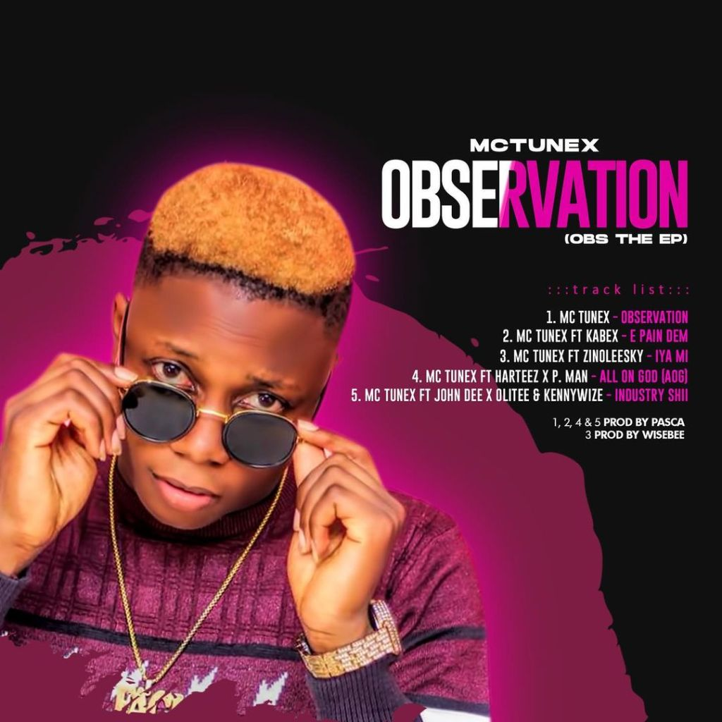 Mc Tunex – Observation (OBS The EP)