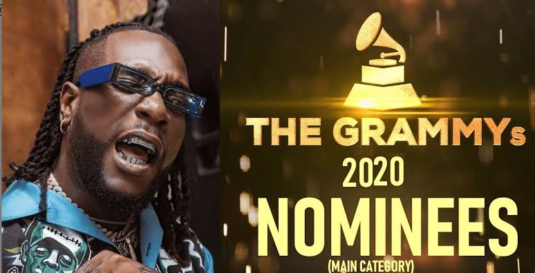 Burna Boy Twice As Tall album nominated for the Grammy album of the year awards