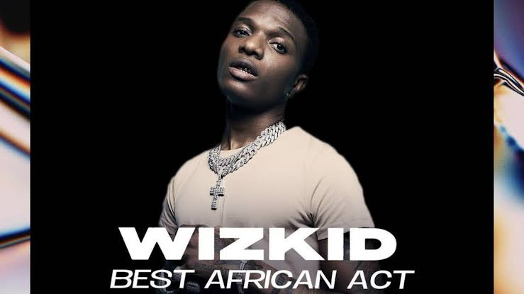 Wizkid wins best African act at the 2020 MOBO awards