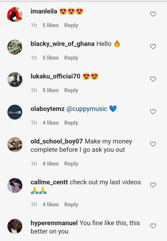 """""""This one is better"""" – Reactions as DJ Cuppy rocks new look (Photo)"""