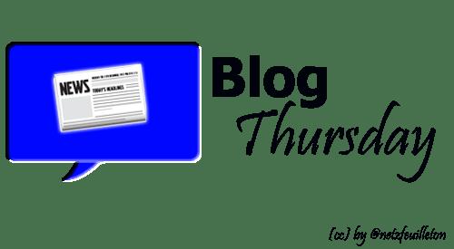 #BlogThursday