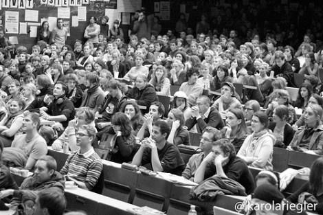 Bachelor Studenten im Hörsaal