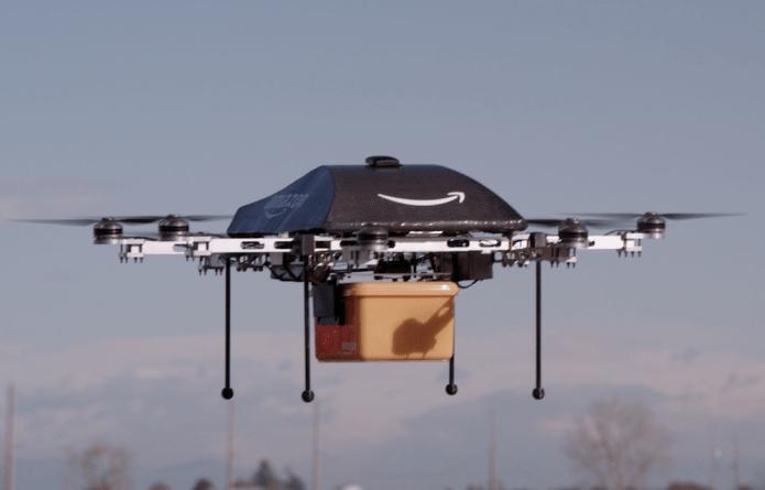 Vom Christkind zur Amazon Drohne
