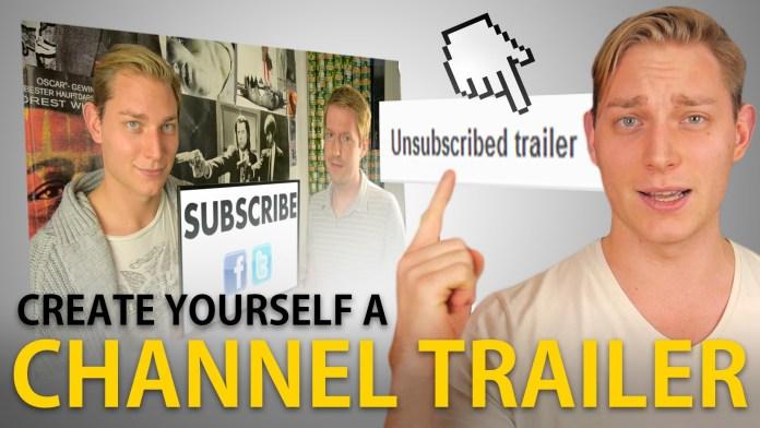 4 Tips für den perfekten YouTube Channel Trailer [Infografik]
