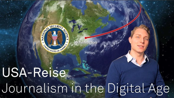 USA-Reise: Journalism in the Digital Age