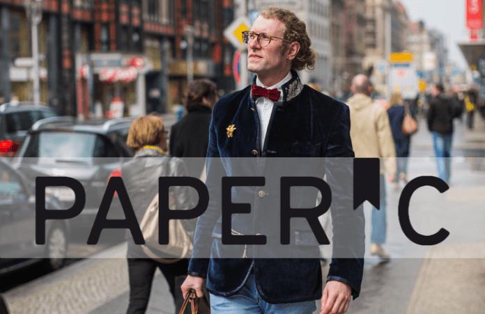 PaperC Gründer Martin Fröhlich