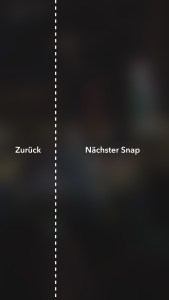 Snapchat Stories spulen