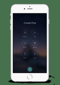 Vero App Empfehlungen posten