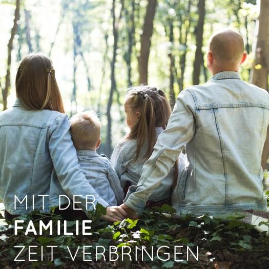Mit der Familie Zeit verbringen - Was ist dir wirklich wichtig? - Spielergebnisse
