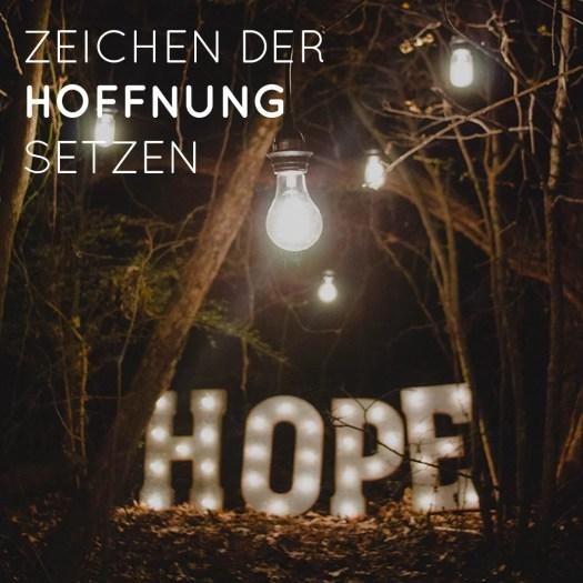 Zeichen der Hoffnung setzen - Was ist dir wirklich wichtig? - Spielergebnisse