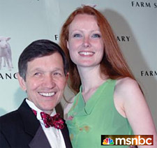 dennis kucinich and wife no las vegas msnbc