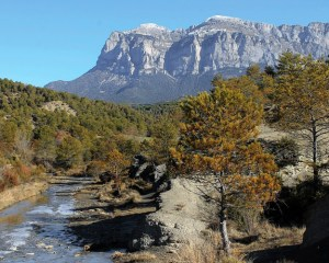Hochgebirge in Spanien. Mit Yeti?